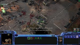 StarCraft 2 Co-op Campaign: Wings of Liberty Mission 1 - Liberation Day