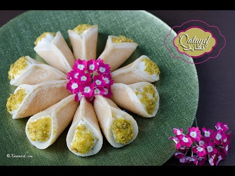 how to make katayef dough