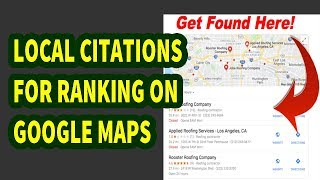 Local Citations | How To Rank In Google Maps | How To Build Citations For A Business