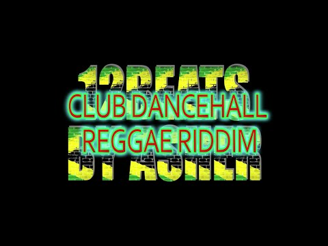 Dancehall reggae riddim instrumental beat