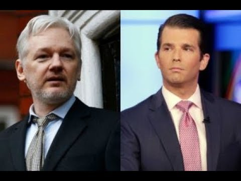 Julian Assange and WikiLeaks Asked Favors of Trump