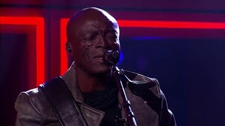 RTL Late Night gemist: Seal zingt Kiss from a Rose live