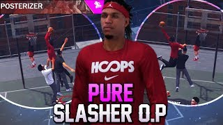 Easy Dunks! Pure Slasher Is Getting Tough With Hall of Fame Posterizer! NBA 2K18 Playgrounds