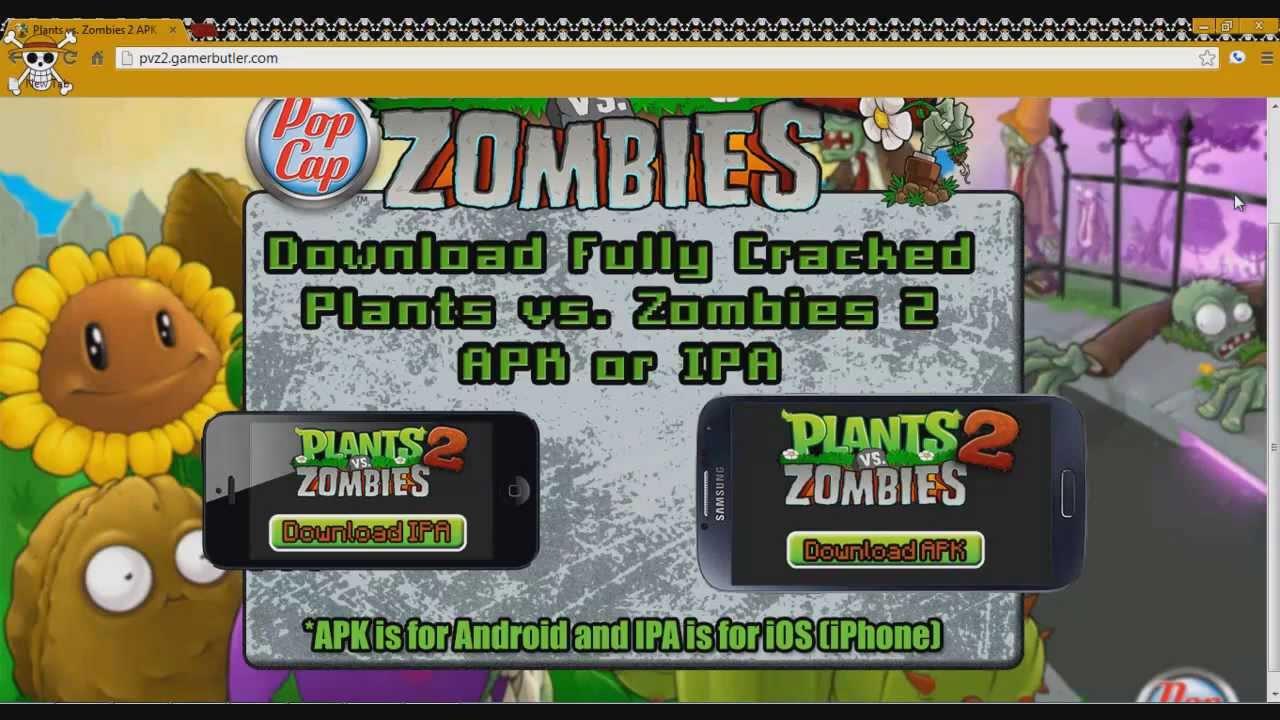 download plant vs zombies 2 apk