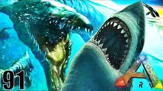 JE CAPTURE L'IMMENSE MOSASAURUS ! | ARK: Survival Evolved ! #Ep91 thumbnail