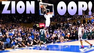 zion williamson duke alley oop
