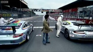 Repeat youtube video The British Vs The Germans - The Stig - Top Gear
