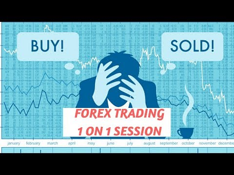 Forex Trading 1on 1 with a student