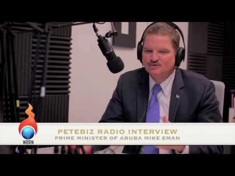 PeteBiz Radio: Prime Minister of Aruba Mike Eman