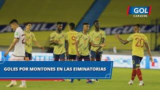 Eliminatorias Sudamericanas Catar 2022 fecha 1, resumen de todos los goles