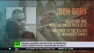 'No deterrent to soldiers' shootings': Israel border guard's sentence doubled over killed teen