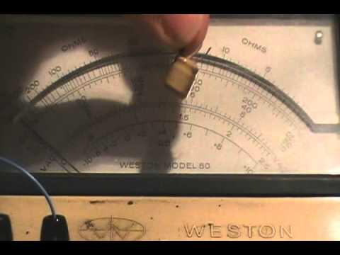 Homemade ESR meter!! (WHHOOOOO!!)
