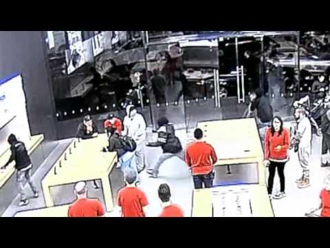 Apple store robbery