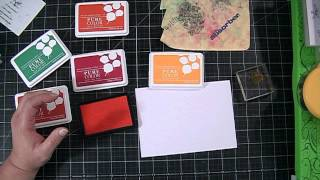 WPlus9 Dye Ink Pad Review & Absorber for Cleaning Stamps