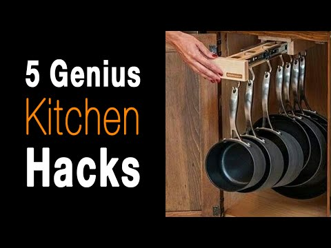 5 Kitchen Storage Solutions That Are Borderline Genius...