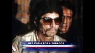 Justicia mexicana libera a Caro Quintero y Neto Fonseca