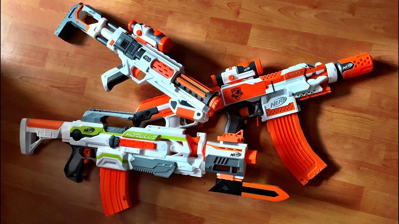 nerf machine gun wars