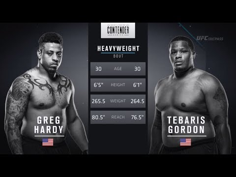 FREE FIGHT | Hardy's Second Fight, Second Knockout | DWTNCS Week 8 Contract Winner - Season 2
