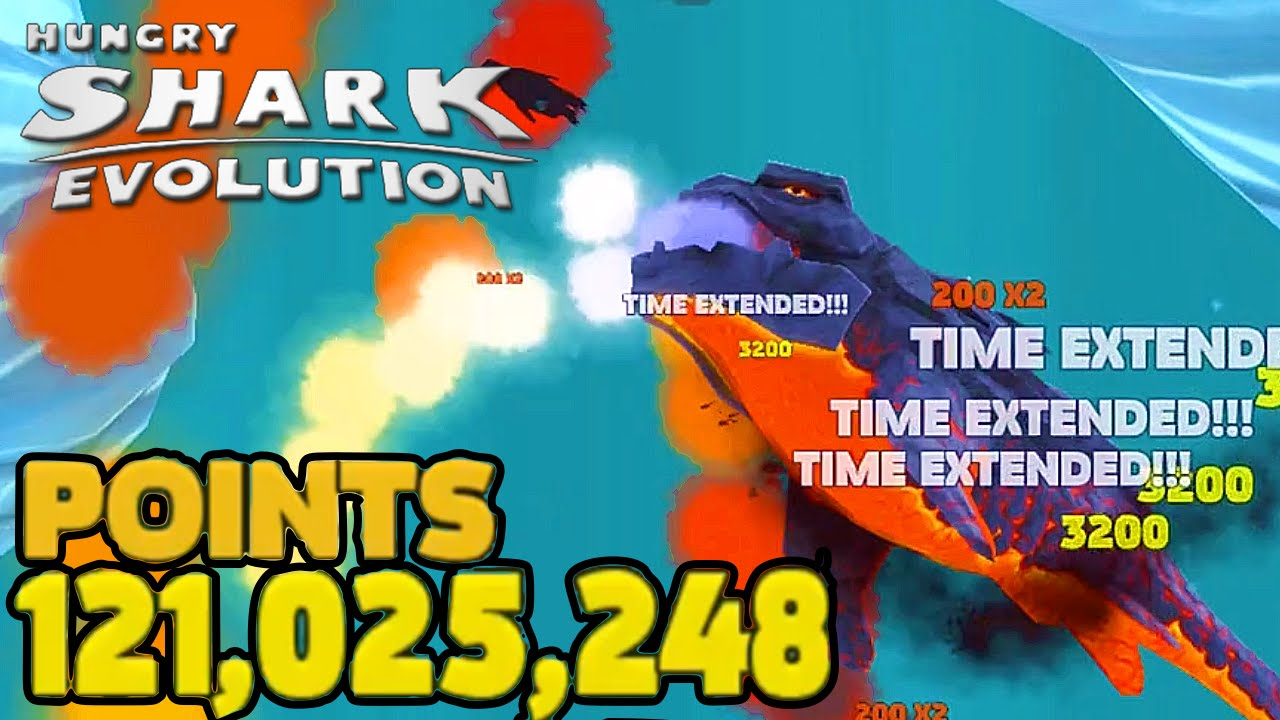 Pyro Shark World Record Highscore Hungry Shark Evolution Part 37 Hungry Shark Evo