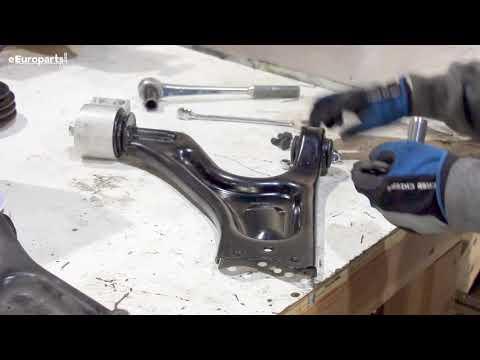 Saab 9-5 Front Control Arm DIY