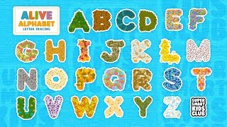 Fun and colourful Letter Tracing with Alive Alphabet thumbnail