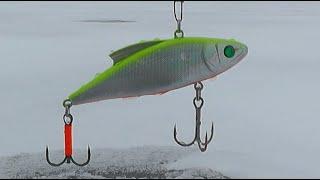 Раттлины рулят зимняя рыбалка на щуку