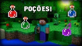 Minecraft 1.4.7 - Como Fazer Todas Poções!