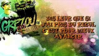 GREZOU - Dis leur ( Video Lyrics - Reggae )