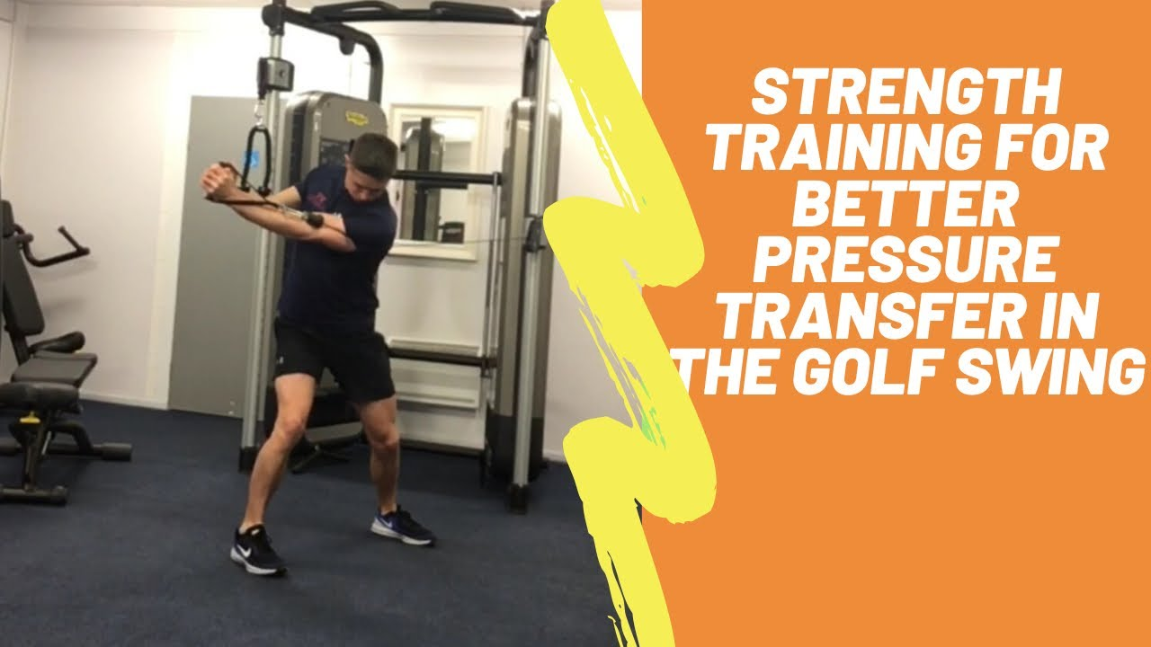 Golf Fitness: Weight Transfer