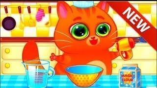 Котик Бубу Мультик игра для детей играть онлайн скачать бесплатно Видео 4 серия Как накормить Бубу