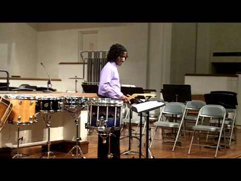 Stamina & The Charger, Snare Drum Solos, performed by Jay, on a HV Drum