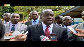 Matiang'i Witnesses First Hand Challenges In Schools