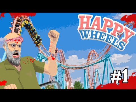 [EP.1]Happy Wheels   สวนสนุกหรรษาพาเพลิน zbing z.
