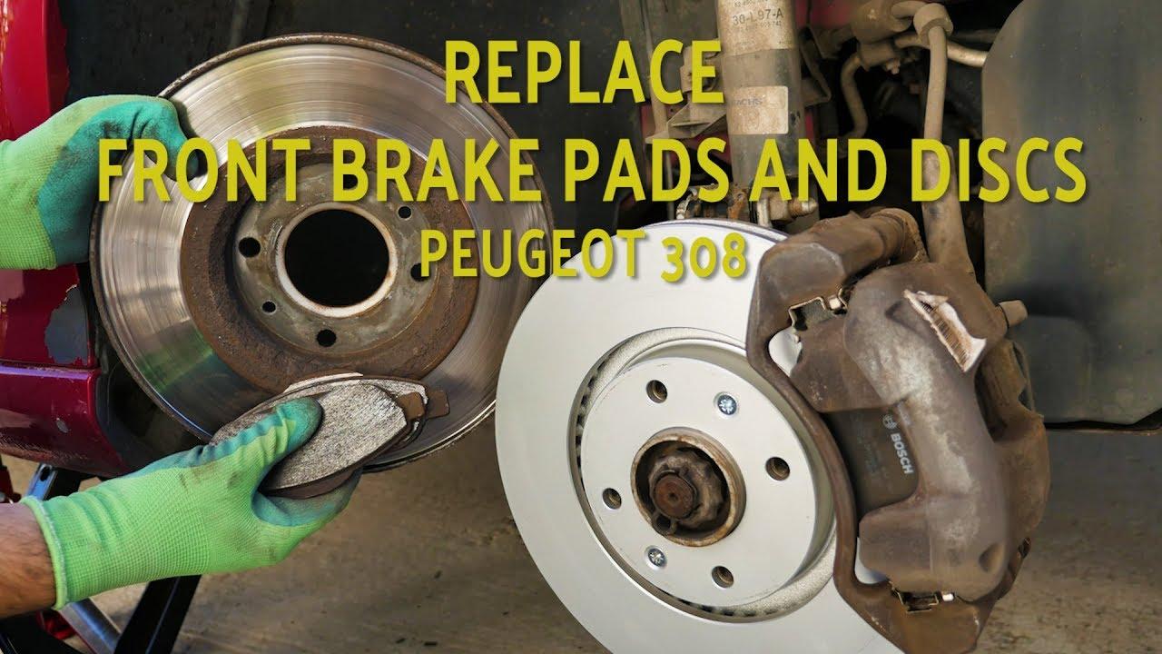 Juratek Front Disque de frein pour Peugeot MPV 1.6 BlueHDi 120 1560CCM 120HP 88 kW