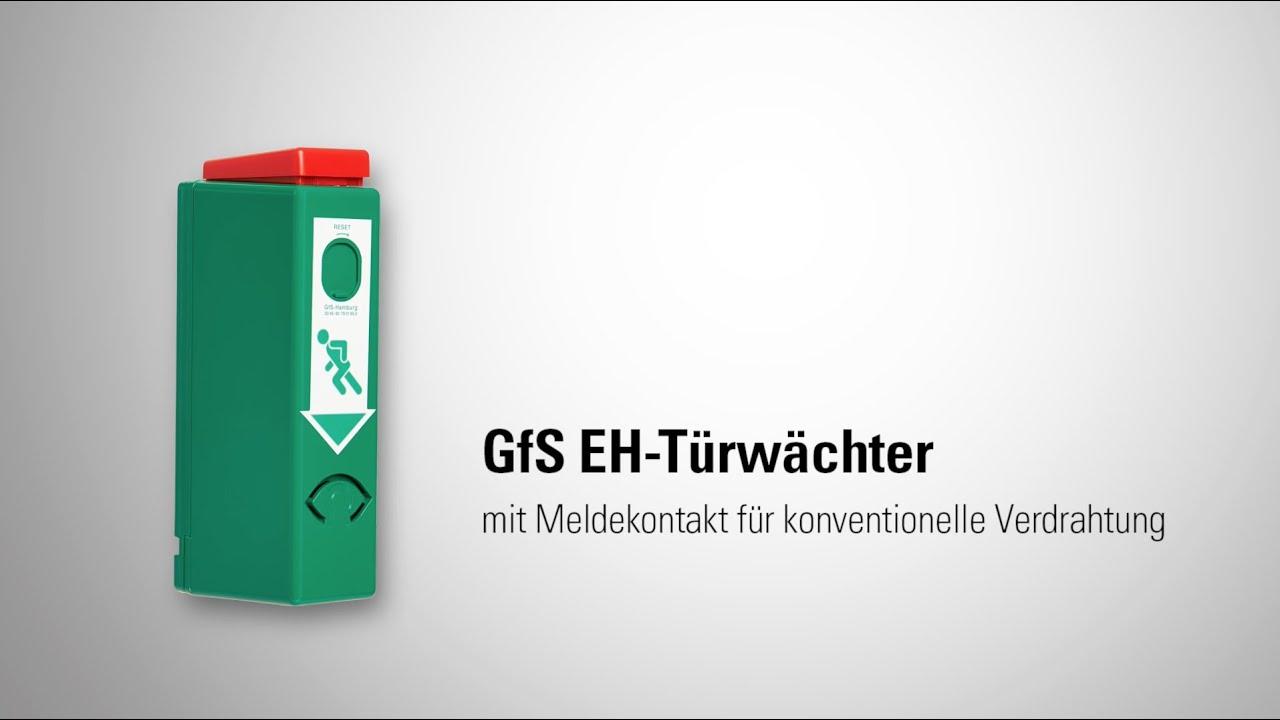 GFS EH-Türwächter mit Meldekontakt für konventionelle Verdrahtung ...