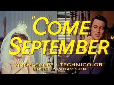 Come September.1961. The Rock Hudson and Gina Lollobrigida Chemistry
