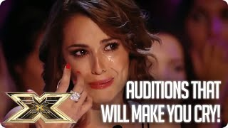 Get ready to cry! Emotional Auditions | The X Factor UK