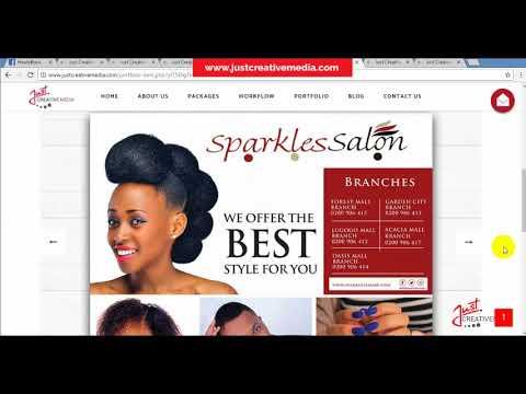 Website design in Uganda