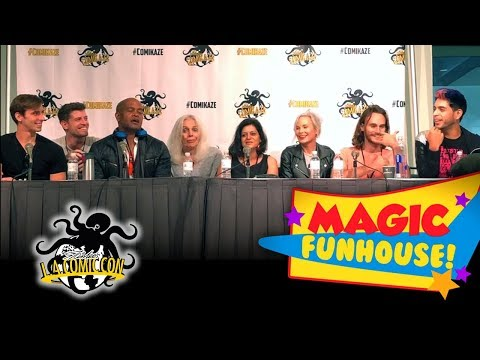 Magic Funhouse Panel at LA Comic Con 2017
