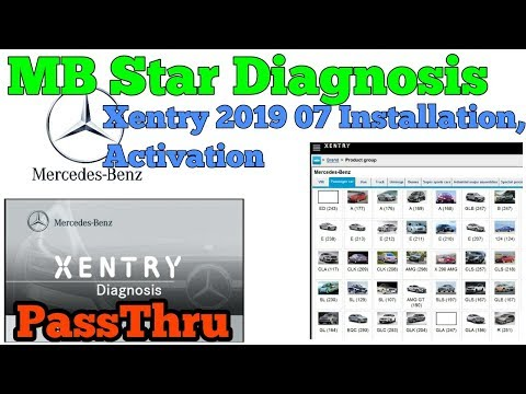 Mercedes Benz MB Star Xentry 2019 07 PassThru Installation And