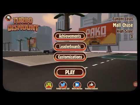 Miren Todo El Vídeo Completo Y Lo Van A Entender(turbo Dismount)#2