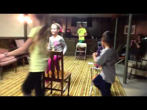 Chair Aerobics For Kids - YouTube
