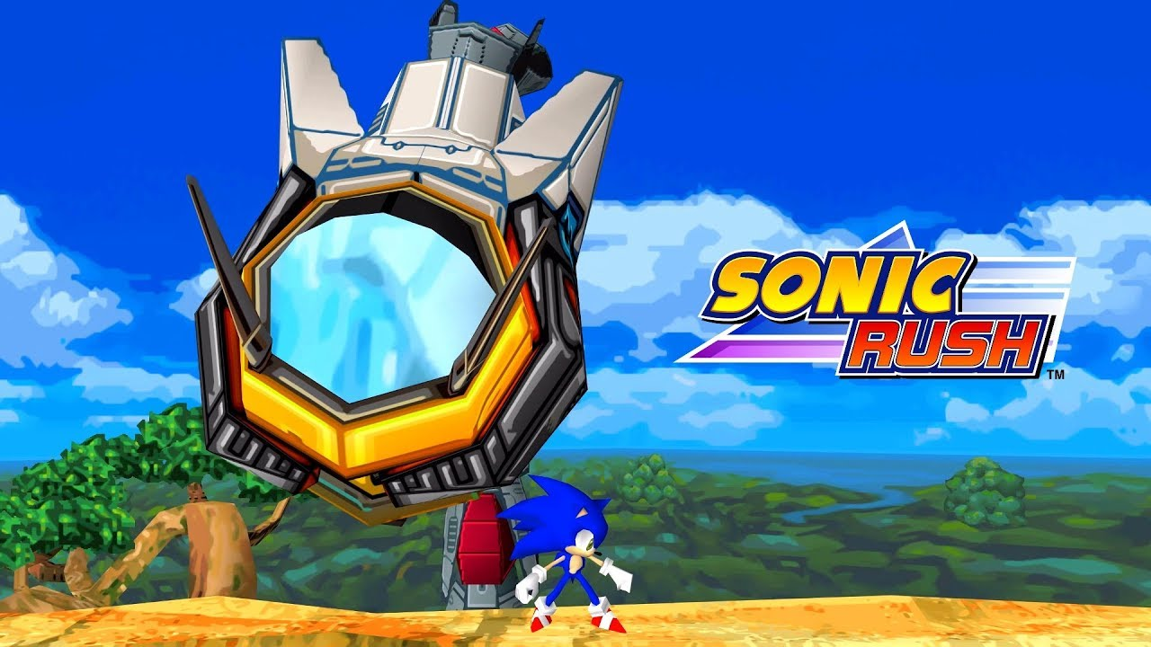 Sonic Rush Boss - Egg Hammer Mega - Sonic (Ultra High Quality)