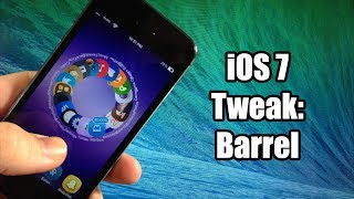 iOS 7 Jailbreak Tweak - Barrel - New Animations!