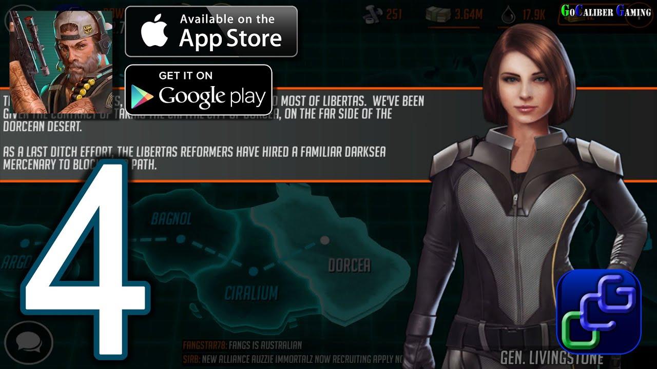 league of war mercenaries android ios walkthrough part 4