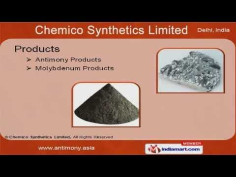 Antimony Salts and Derivatives by Chemico Synthetics Limited, New Delhi