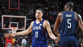 Klay Thompson FULL Pre-Olympic Highlights - 14.2 PPG