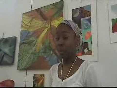 Sharifa, Art Student, Community College of Philadelphia