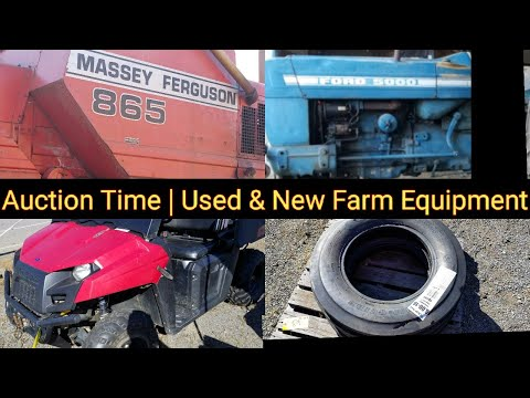 Auction Time | Used & New Farm Equipment