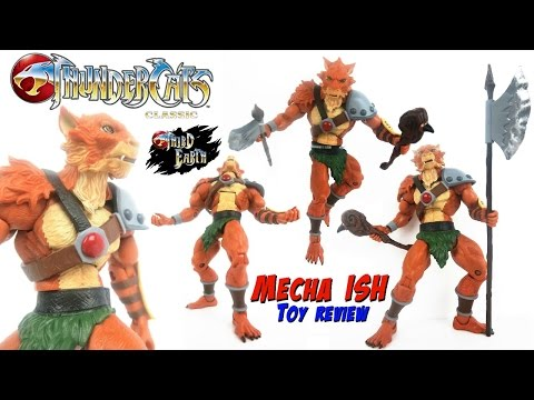 Thundercats Classic JACKALMAN Matty Collector Club Third Earth Action Figure Review 2016